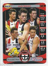 2014 Teamcoach Herald Sun Quiz (15) Jack STEVEN (Which of the following.......)
