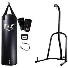 Everlast Single Station Heavy Bag Stand with MMA Kit Value Bundle
