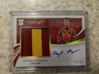 2020 Onyeka Okongwu Immaculate RPA Rookie Patch Auto /25!! Gold RC Auto USC