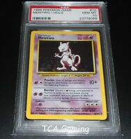 PSA 10 GEM MINT Mewtwo 10/102 Base Set HOLO RARE Pokemon Card