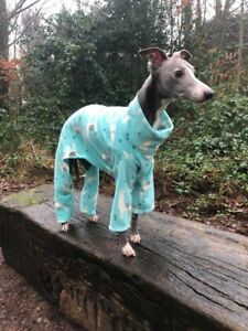 "dog pyjamas jumper greyhound lurcher whippet 28-30""all in one llama"