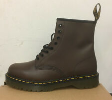 DR. MARTENS 1460  BROWN SMOOTH    LEATHER  BOOTS SIZE UK 4