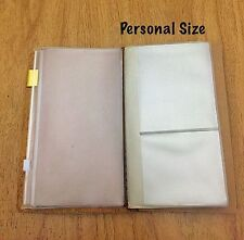 Personal Size PVC Credit Card Holder Refill for Midori Travelers Notebook