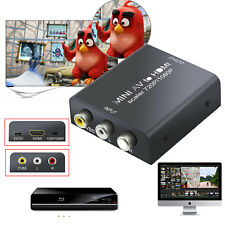 Mini AV zu auf HDMI Konverter Composite CVBS RCA 720P/1080P Audio Video Adapter