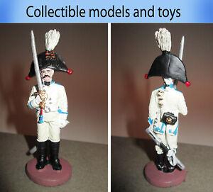 Tin soldier 1:30 Private of His Majesty's Cuirassier Regiment 1802-1803 Napoleon