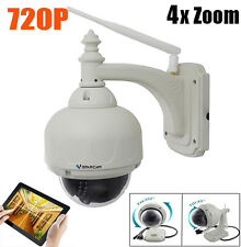VStarcam Wif C7833-X4 IR 20M 1MP 720P H.264 IP66 CF Card Slot Network IP Camera