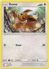 Eevee - 49/68 - Common - Reverse Holo - Sun & Moon: Hidden Fates - Pokemon