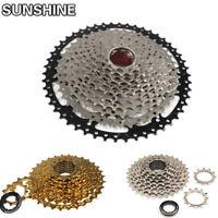 SUNSHINE MTB Road Bike Cassettes 8 9 10 11 Speeds Freewheel Fits Shimano SRAM