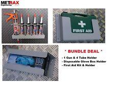 Van Storage Bundle First Aid/Glove Box/Gun&tube holder -* Plumber Present *