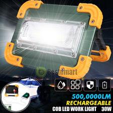 5000000lm Usb Charging Cob Led Work Light Inspection Flashlight Flood Lamp Stand