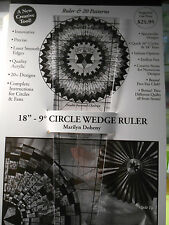 """18""""-9 degree Wedge Ruler from  Marilyn Doheny"""