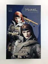 "ZC Girl Muriel Sniper 1/6 scale Collectible 12"" Action Figure Complete in Box"