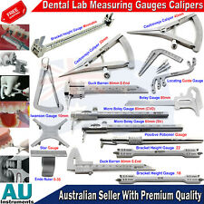 Orthodontic Dental Lwanson Gauge Calipers Lab Crown Diamonds Gauge Measuring New