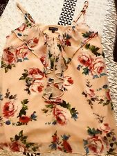 Beautiful City Chic Floral Ruffled Top - XS