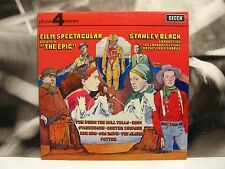 STANLEY BLACK - FILM SPECTACULAR VOL. 4 - THE EPIC LP EX+/EX+ UK DECCA PHASE 4