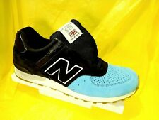 NEW MEN'S NEW BALANCE 576 RETRO M576PNB MADE IN ENGLAND Black/Blue SHOES SZ 10.5