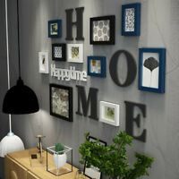 Family Photo Frame Picture Sticker Home Hanging Wall Collage Wedding Decor
