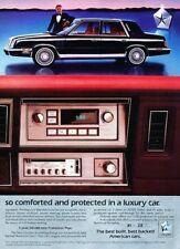 1984 Chrysler New Yorker 2-page Advertisement Print Art Car Ad J868