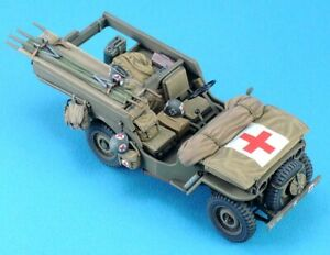 Legend Productions 1/35 Willys Ambulance Conversion Set w/Decals (Resin+PE)