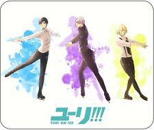 "Yuri On Ice - Mouse Pad - 10"" X 8.5"" -  Anime Yaoi Boys Love - Japanese"