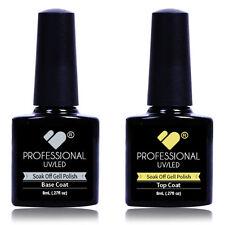 TOP & BASE COATS VB® Line UV/LED Soak Off Nail Colour Polish Gel