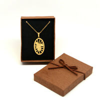 St Saint Michael The Archangel Necklace Gold Stainless Steel (SSPAM35MCH-G)