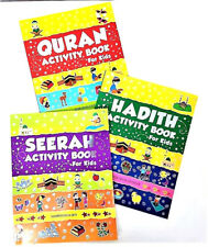 Quran / Hadith / Seerah Activity Books - 3 Book Set (Paperback)