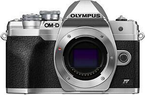 OLYMPUS OM-D E-M10 Mark IV Body SLV