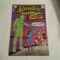 Adventure Comics # 357 (DC, 1967) Hands signed Curt Swan Jim Shooter Autographed