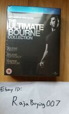 The Ultimate Bourne Collection  Blu-ray (UK release / REGION FREE, 2009)