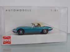 BUSCH 9838120 Ricko 1:87 Jaguar E-Type Cabrio geschlossen - NEU in OVP