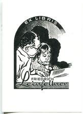 EXLIBRIS,161,Werner Pfeiler - Kind - Buchlesend
