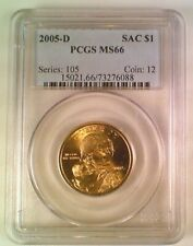 2005-D Sacajawea Native American Dollar PCGS MS66