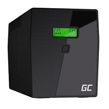 Onduleur Green Cell UPS 1500va 900w alimentation D'énergie ASI AVR 4x Schuko