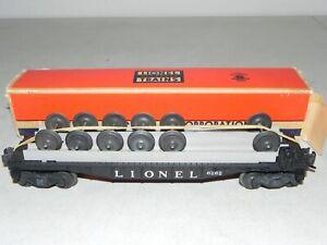 Lionel Postwar O Ga. #6262 Wheel Car OB