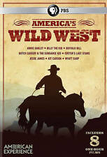 America's Wild West (3-DVD Set) Annie Oakley/Butch Cassidy/Wyatt Earp BRAND NEW