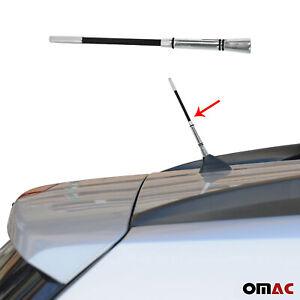 "7"" Dark Aluminium AM FM Car Radio Antenna Screw On Fits Tesla"