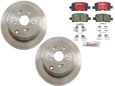 NEW Honda Odyssey 02-04 V6 3.5L J35A4 BREMBO Rear Brake Kit with Rotors & Pads