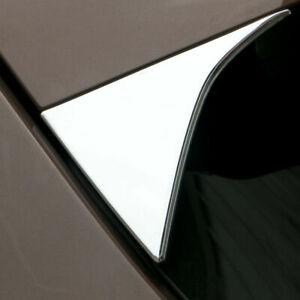2017-2020 For Kia Sportage QL Chrome Rear Window Side Spoiler Cover Trim Molding