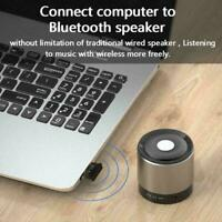USB 5.0 Wireless Audio Music Stereo Bluetooth Adapter Transmitter Receiver B0Q4