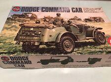 airfix 1/35 08361-6 dodge command car vintage model kit contents sealed