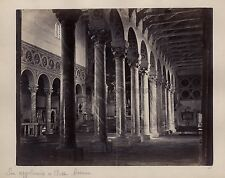 Saint-Apollinaire in Classe Ravenne Italie Italia Vintage albumine ca 1870