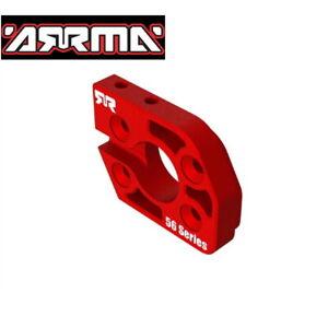 Arrma  ARA320591 Aluminum Motor Plate 56 Series Red