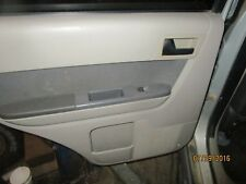 08 09 10 11 12 FORD ESCAPE LEFT rear DRIVER SIDE INTERIOR DOOR PANEL gray