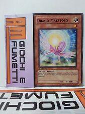 DRAGO MAESTOSO in italiano YUGIOH COMUNE originale konami