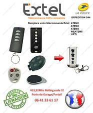 TÉLÉCOMMANDE compatible Extel WEATEM5 ATEM2 ATEM3 ATEM4 ATEM5