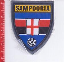 SAMPDORIA Football club 70s sticker - scudetto adesivo metallizzato