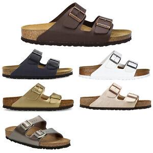 Birkenstock Unisex Sandals Arizona Comfortable Slip-Ons Birko-Flor