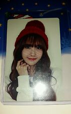 Snsd girls generation yoona season greetings photocard card Kpop K-pop