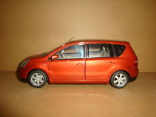 1/18 China NISSAN Livina dark red color (mint without box!)+ gift